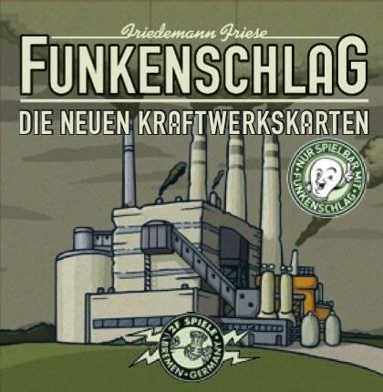 Funkenschlag - Die neuen Kraftwerkskarten (Erw.)