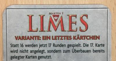 Limes: Ein letztes Kärtchen (Promo)