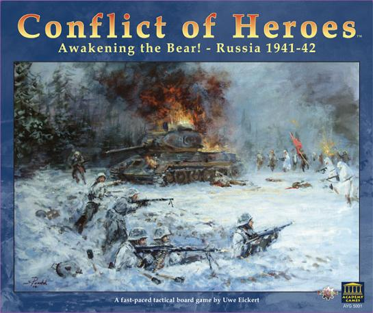 Conflict of Heroes: Awakening the Bear! (engl.)
