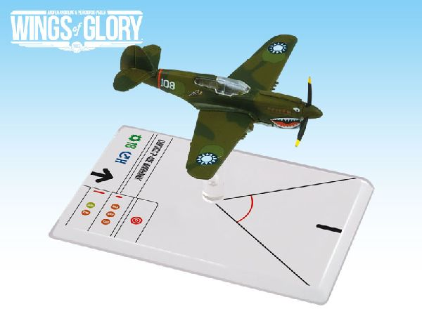 Wings of Glory WW2: Curtiss P-40E Warhawk (Hill)