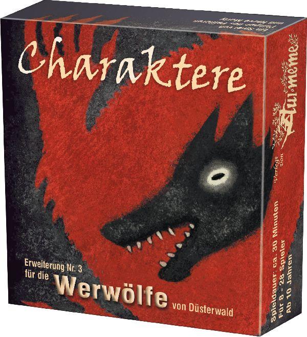 Die Werwölfe von Düsterwald: Charaktere (Erw.)