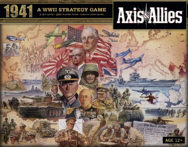Axis & Allies 1941 (engl.)