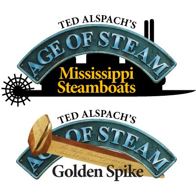 Age of Steam - Mississippi & Golden Spike (engl.)