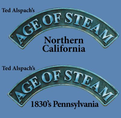Age of Steam - Pennsylvania & Nort.California (engl.)