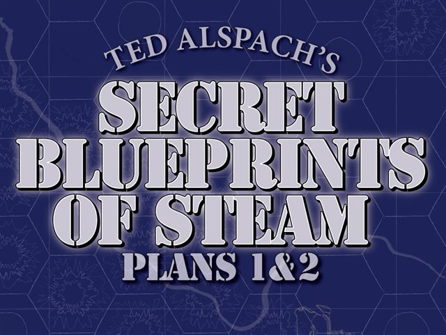Age of Steam - Secret Blueprints of Steam 1&2 (engl.)
