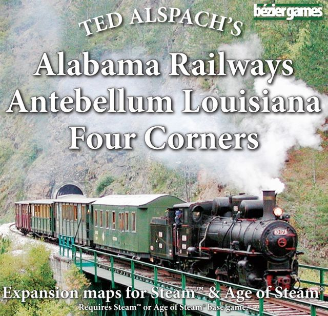 Age of Steam - Alabama, Louisiana Railways (engl.)