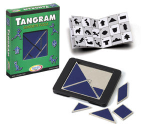 Tangram Metallpuzzle