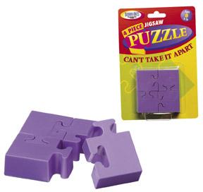 4 Piece Jigsaw Puzzle (engl.)