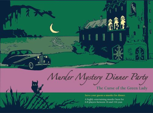Murder Mystery Dinner Party: The Curse of the Green Lady (engl.)