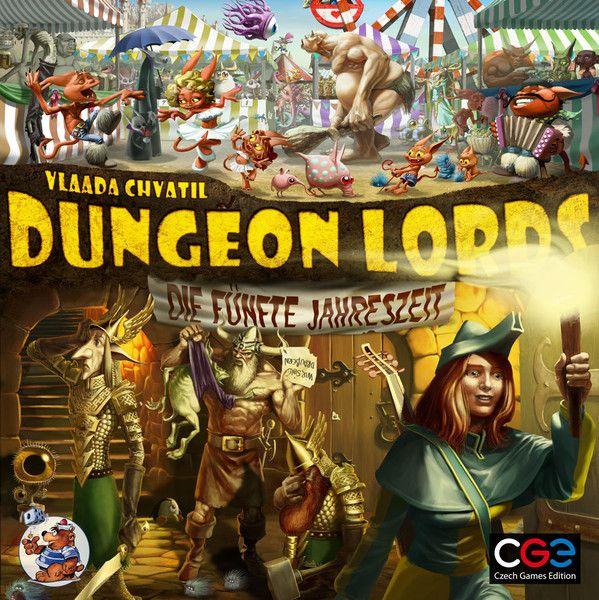 Dungeon Lords: Die fünfte Jahreszeit (Erw.)