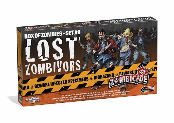 Zombicide Season 3: Lost Zombivors Set (Exp.) (engl.)