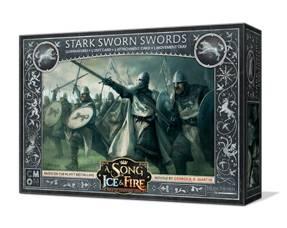 A Song of Ice & Fire: Miniaturenspiel - Stark Sworn Swords (Erw.) (deutsch)