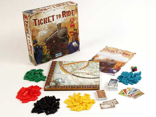 Ticket to Ride (engl.)