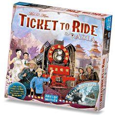 Zug um Zug (Ticket to Ride) Asien (Erw.) (inter...