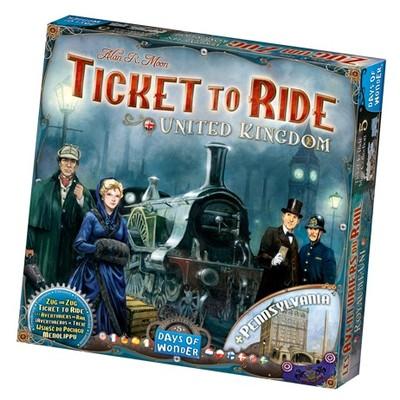 Zug um Zug (Ticket to Ride) United Kingdom (Erw.) (international