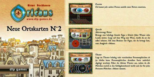 Orléans: Ortskarten-Edition N°2 (Erw.)