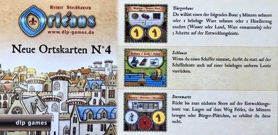 Orléans: Ortskarten-Edition N°4 (Erw.)