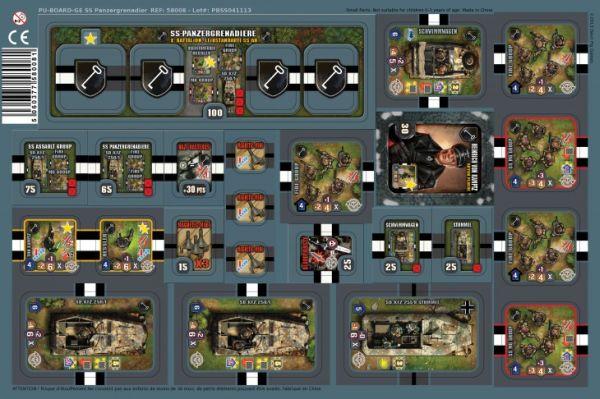 Heroes of Normandie: US Rangers Punch Board (Exp.) (engl.)