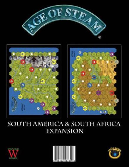 Age of Steam: South America (Exp.) (engl.)
