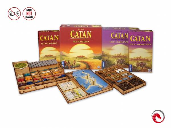 Insert: Catan Traders & Barbarians 5-6 Players Expansions (Insert)