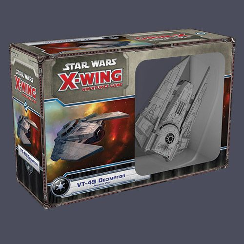 Star Wars X-Wing: VT-49 Decimator (Exp.) (Engl.)