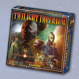 Twilight Imperium: Shattered Empire (Exp.) (engl.)