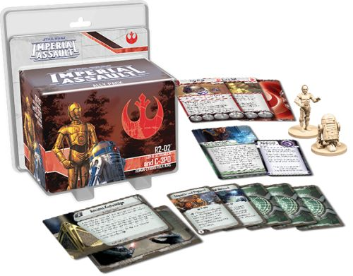 Star Wars Imperial Assault: R2-D2 and C-3PO (Ex...