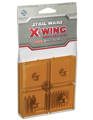 Star Wars X-Wing: Orange Bases and Pegs (Exp.) ...