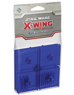 Star Wars X-Wing: Blue Bases and Pegs (Exp.) (engl.)