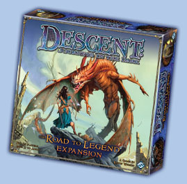 Descent: Road to Legend (Exp.) (engl.)