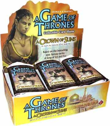 A Game of Thrones (CCG): A Crown of Suns Booster (Display) (engl