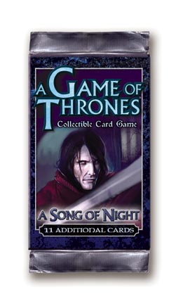 A Game of Thrones (CCG): A Song of Night Booster (engl.)