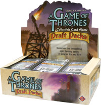 A Game of Thrones (CCG): Draft Pack Booster (Display) (engl.)