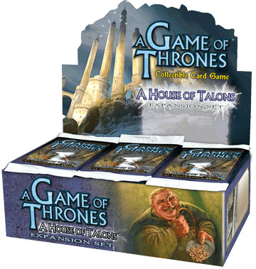 A Game of Thrones (CCG): House of Talons Booster (Display) (engl