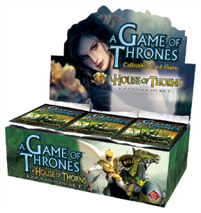 A Game of Thrones (CCG): House of Thorns Booster (Display) (engl