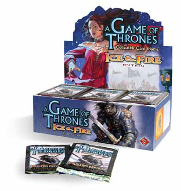 A Game of Thrones (CCG): Ice & Fire Booster (Display) (engl.)