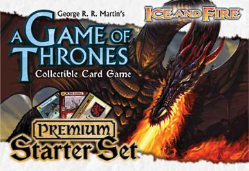 A Game of Thrones (CCG): Ice & Fire Premium Starter (engl.)