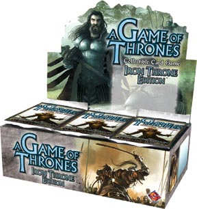 A Game of Thrones (CCG): Iron Throne  Booster (Display) (engl.)