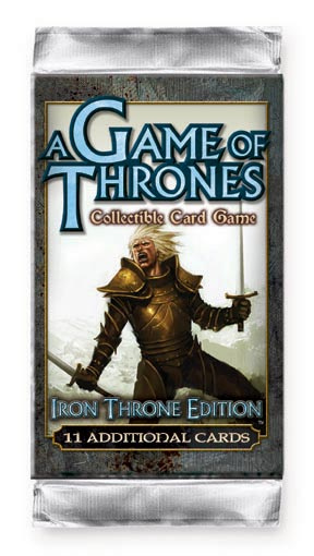 A Game of Thrones (CCG): Iron Throne Booster (engl.)
