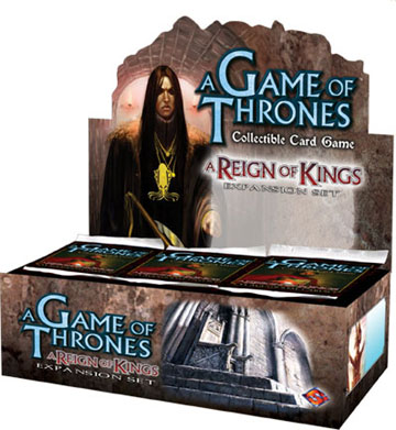 A Game of Thrones (CCG): Reign of Kings Booster (Display) (engl.