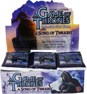 A Game of Thrones (CCG): A Song of Twilight Booster (Display) (e