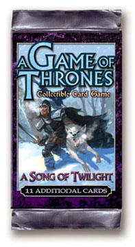 A Game of Thrones (CCG): A Song of Twilight Booster (engl.)