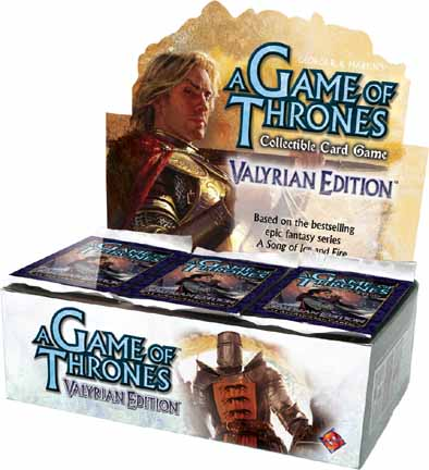 A Game of Thrones (CCG): Valyrian Booster (Display) (engl.)