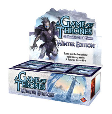 A Game of Thrones (CCG): Winter Booster (Display) (engl.)