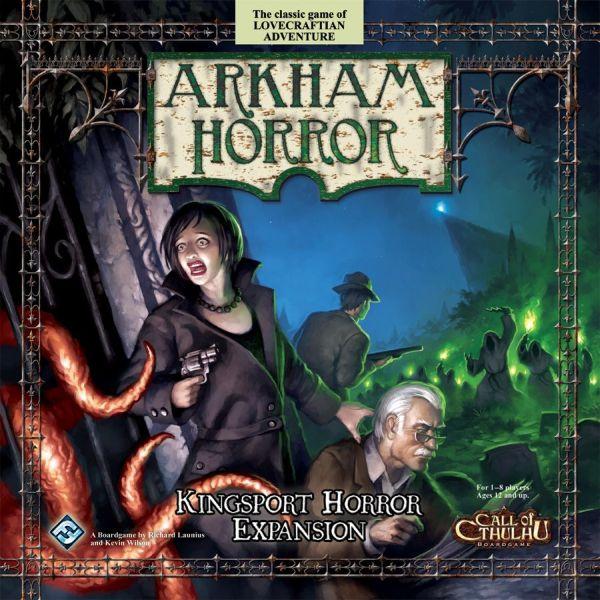 Arkham Horror - Kingsport (Exp.) (engl.)