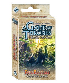 A Game of Thrones (LCG): Epic Battles Pack (engl.)