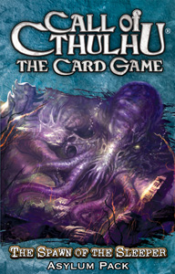 Call of Cthulhu (LCG): Spawn of the Sleeper Pack (engl.)