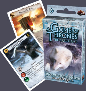 A Game of Thrones (LCG): Wolves of the North Pack (engl.)