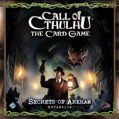 Call of Cthulhu (LCG): Secrets of Arkham (Exp.) (engl.)