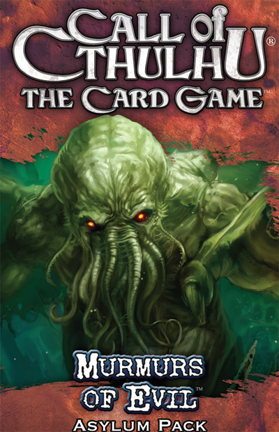 Call of Cthulhu (LCG): Murmurs of Evil (Exp.) (engl.)